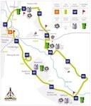 Stafford Half Marathon Map Icon - The Hibbs Lupus Trust