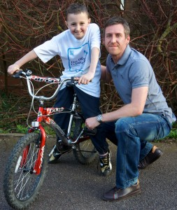 Jack - Charity Cycle Ride for The Hibbs Lupus Trust