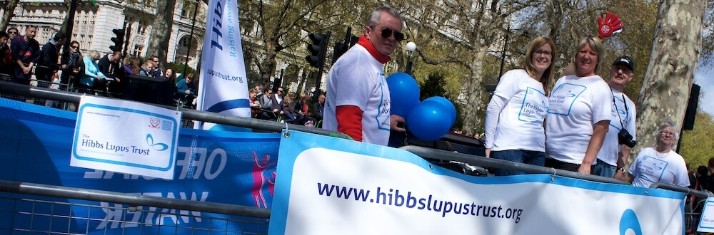 The Hibbs Lupus Trust - London Marathon Lupus Cheering Station