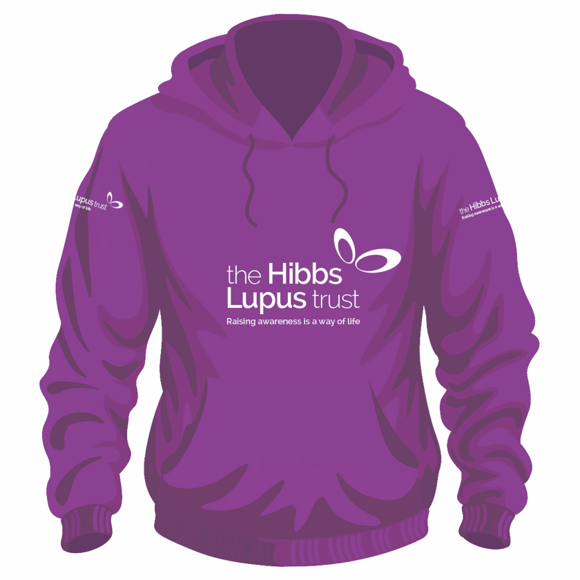 Lupus Hoody - The Hibbs Lupus Trust
