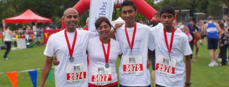 Running for Lupus - The Hibbs Lupus Trust