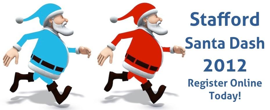 Stafford Santa Dash – The Hibbs Lupus Trust
