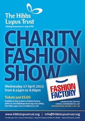 Lupus Fashion Show - The Hibbs Lupus Trust