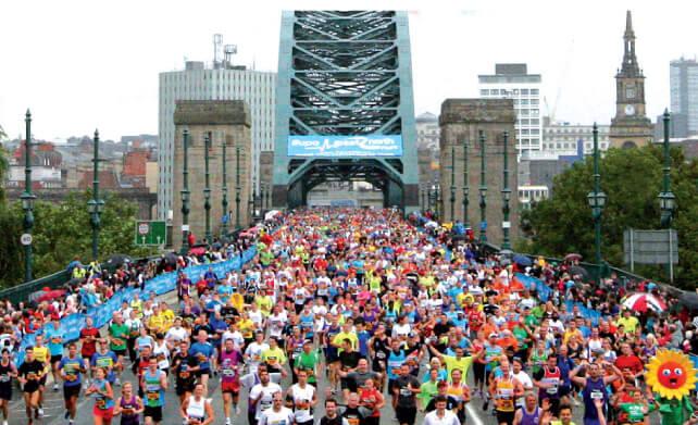 Great North Run - The Hibbs Lupus Trust