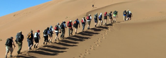 Sahara Trek - The Hibbs Lupus Trust
