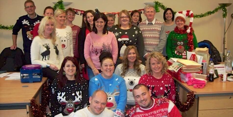 Christmas Jumper 1 - The Hibbs Lupus Trust