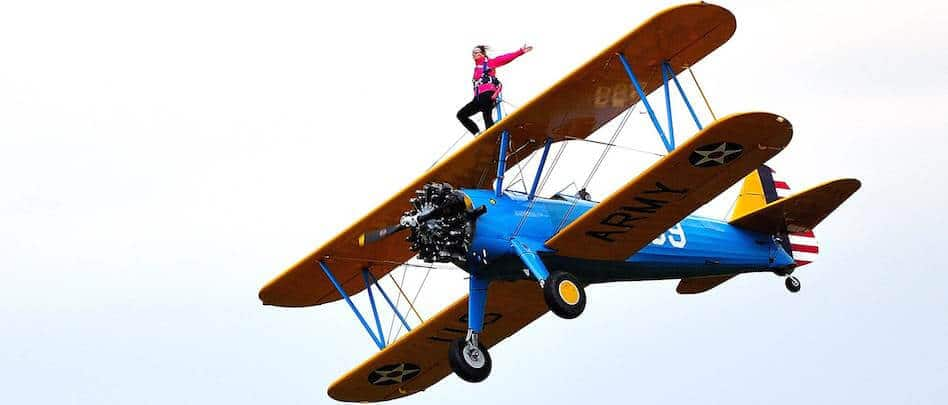 Wing Walking - The Hibbs Lupus Trust