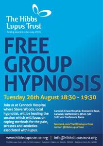 Hypnosis Meeting - The Hibbs Lupus Trust