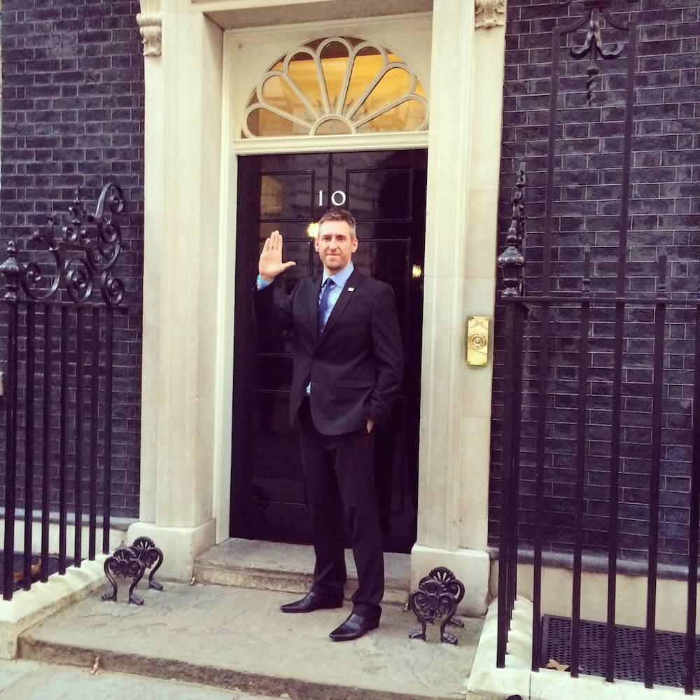 John Hibbs 10 Downing Street - The Hibbs Lupus Trust