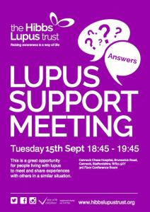Lupus Support Meeting - The Hibbs Lupus Trust