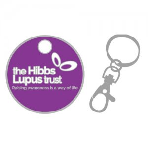 Trolly Coin Key Ring - The Hibbs Lupus Trust