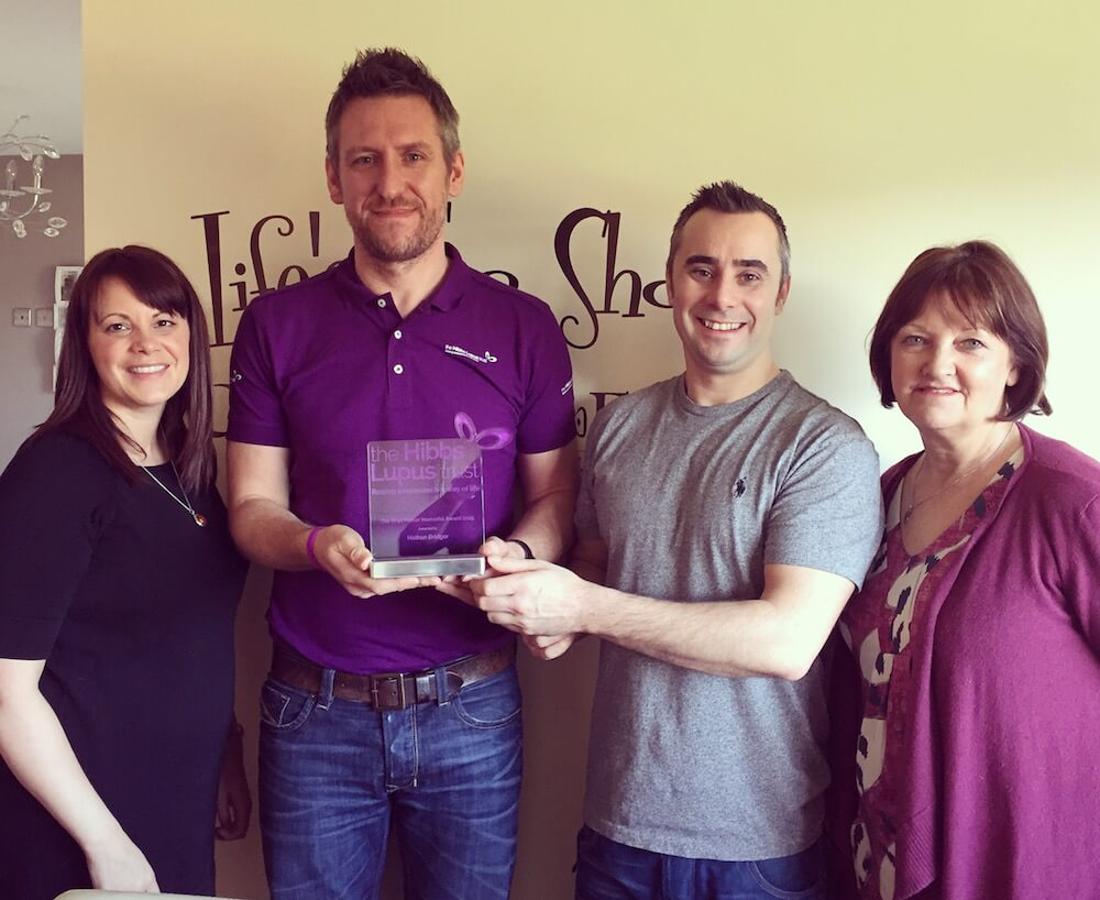 Rhys Parker Memorial Award - The Hibbs Lupus Trust