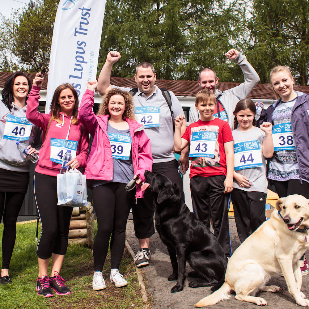 The Hibbs Lupus Trust Walk