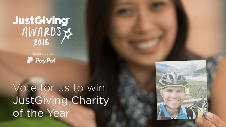 JustGiving Awards - The Hibbs Lupus Trust