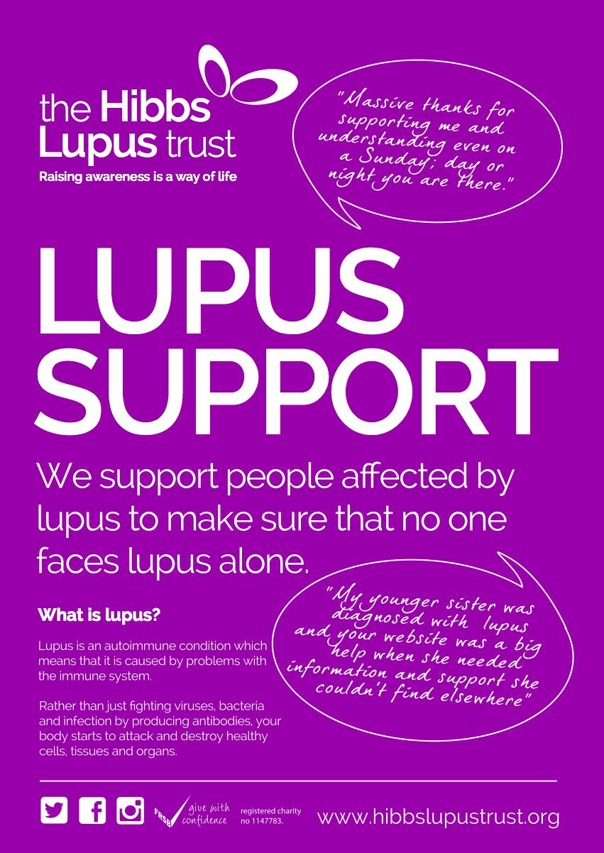 The Hibbs Lupus Trust Poster