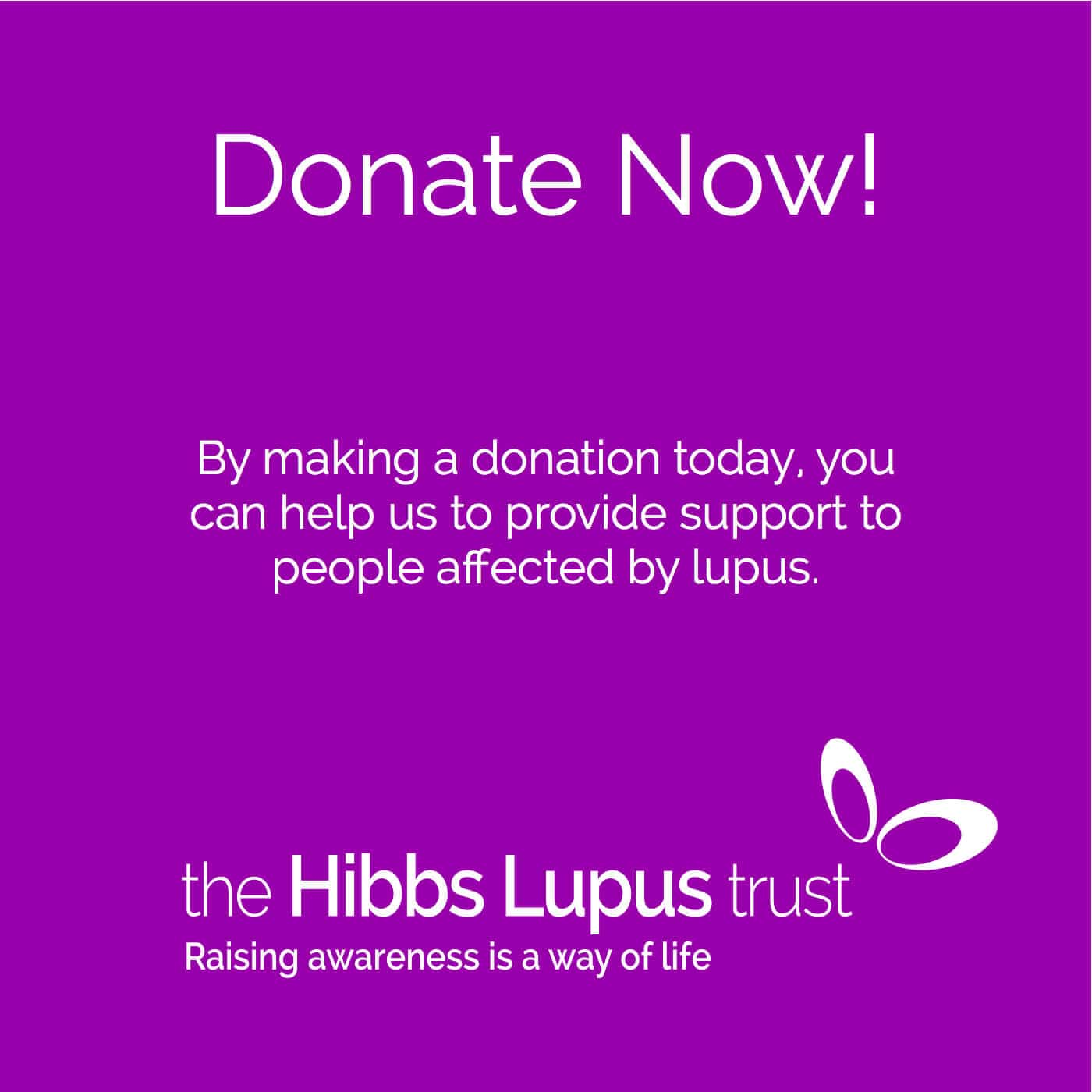 Lupus Donation - The Hibbs Lupus Trust