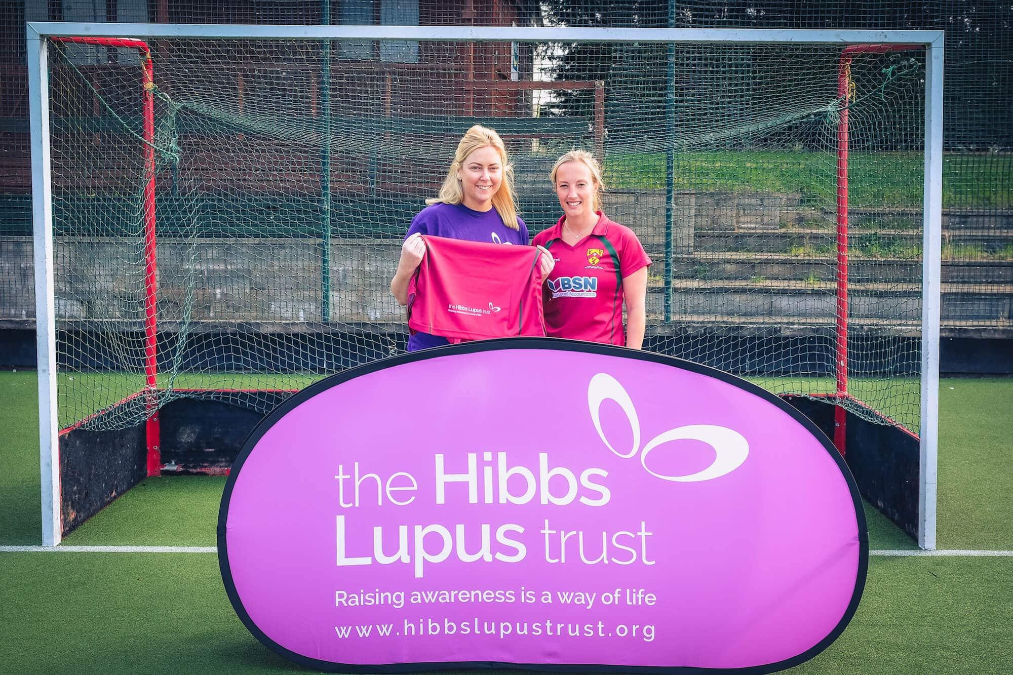 The Hibbs Lupus Trust and Cannock Ladies Hockey Club