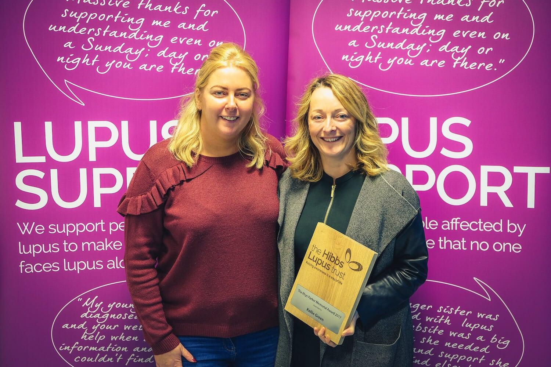 Rhys Parker Memorial Award Winner 2017 - The Hibbs Lupus Trust