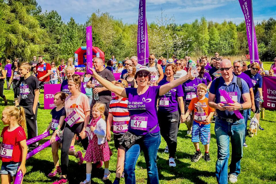 Lupus Walk - The Hibbs Lupus Trust
