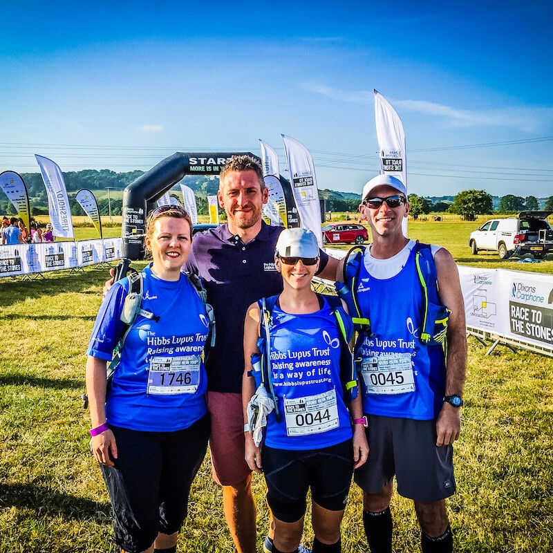 Race to the Stones - The Hibbs Lupus Trust_