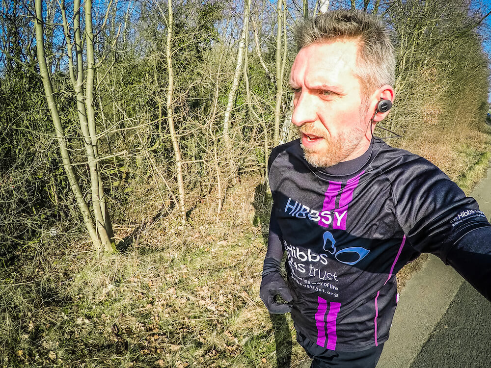 John Hibbs - Lupus London Marathon