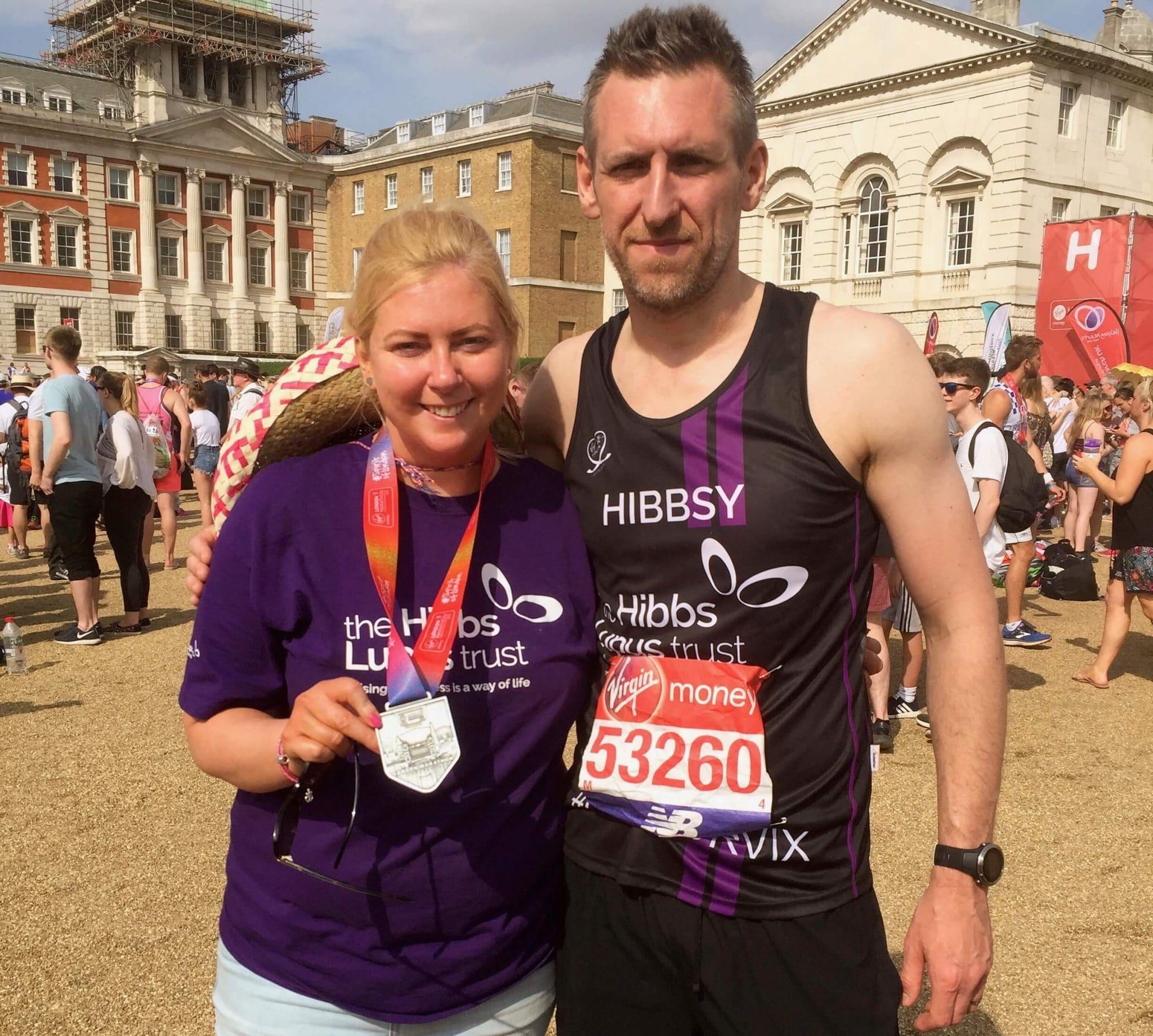John Hibbs - London Marathon