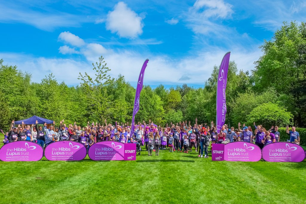The Hibbs Lupus Trust - Walking For Lupus 1
