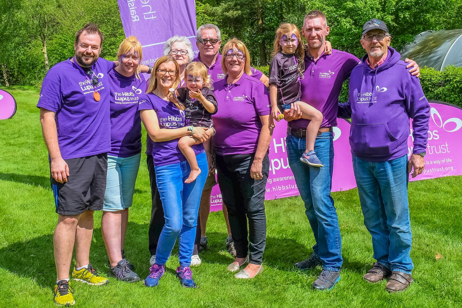 The Hibbs Lupus Trust - World Lupus Day Walk
