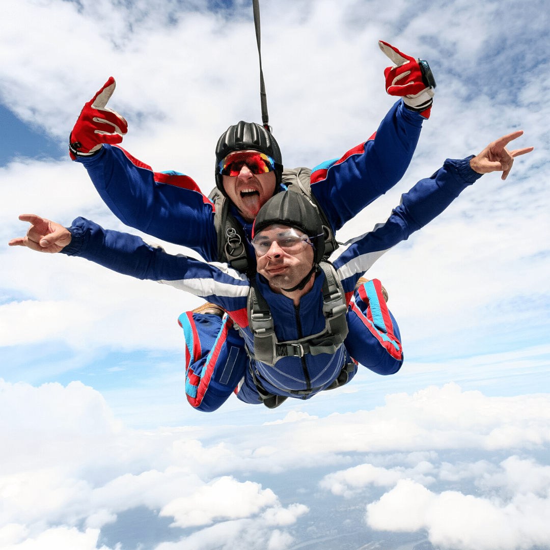 Charity Skydive - The Hibbs Lupus Trust