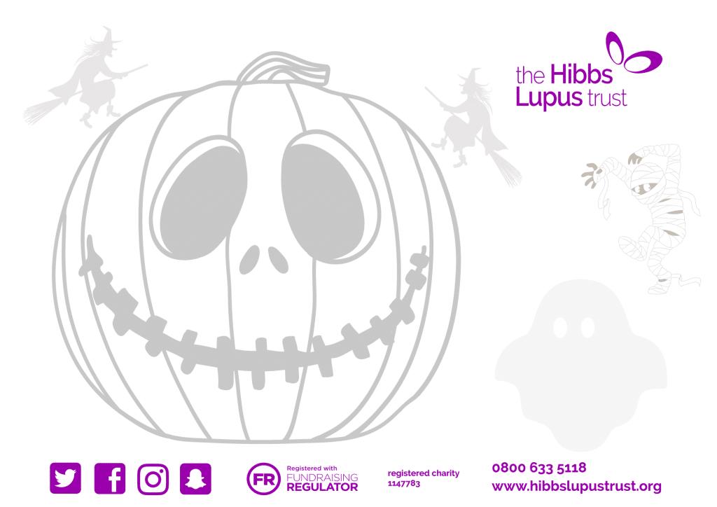 The Hibbs Lupus Trust Pumpkin