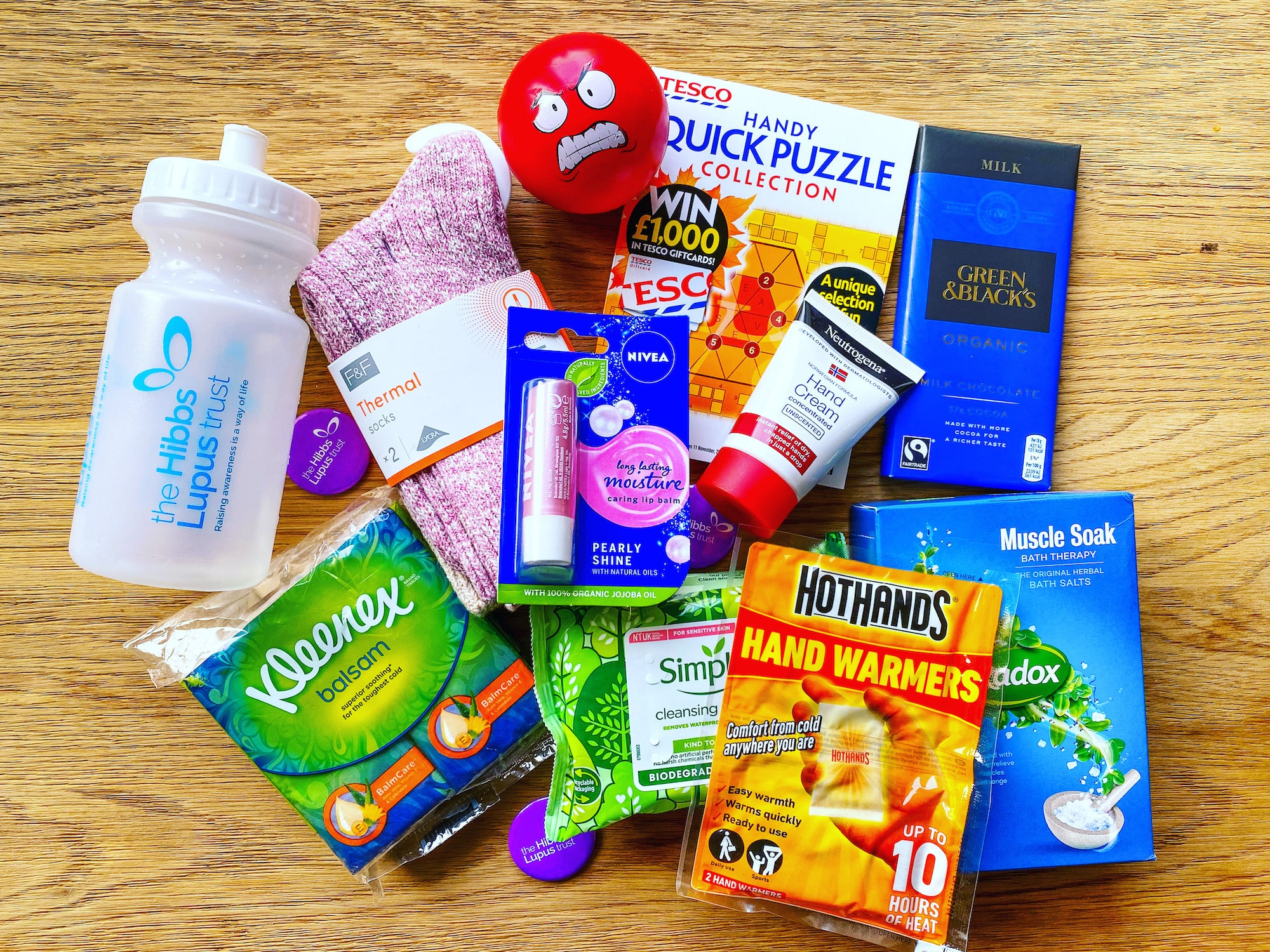 The Hibbs Lupus Trust Flare Care Package